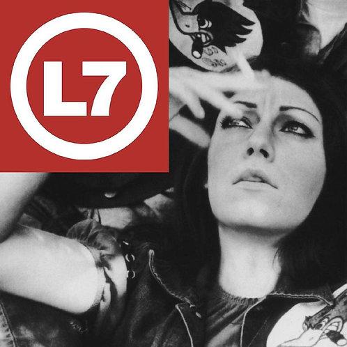L7: The Beauty  Process Triple Platinum (25th Anniversary Platinum Vinyl Record