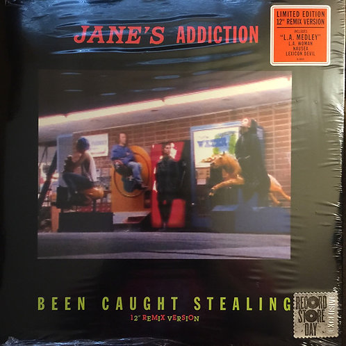 "Jane's Addiction Been Caught Stealing 12"" Vinyl Record"