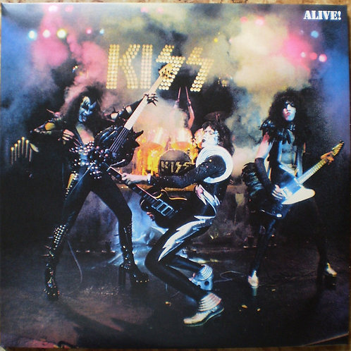 Kiss Alive Double Vinyl Record