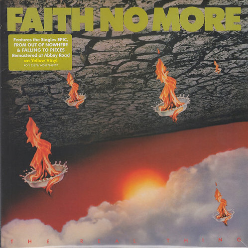 Faith No More: Ther Real Thing Vinyl Record