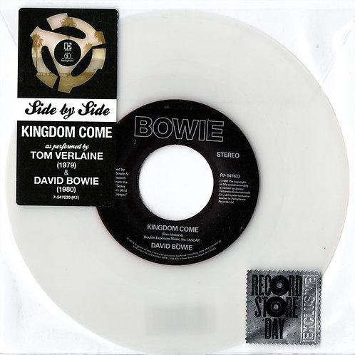 David Bowie/ Tom Verlaine:  Kingdom Come 45 RPM