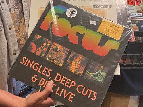 FOCUS: SINGLES, DEEP CUTS & BBC LIVE 2 LP (PURPLE VINYL) Vinyl Record