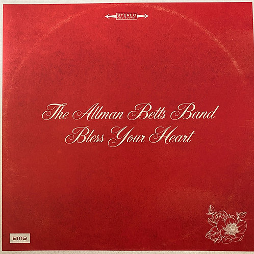 Allman Betts Band: Bless Your Heart Vinyl Record