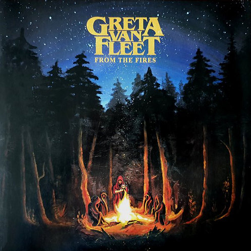 Greta Van Fleet From The Fires Front Cover RSD