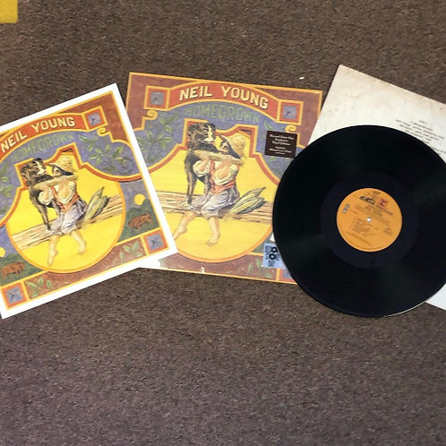 Neil Young: Homegrown Vinyl Record (Indie Store Version)