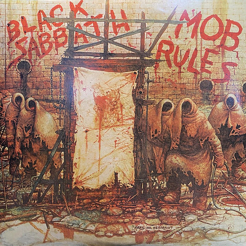 BlackSabbath: Mob Rules 40th Anniversary Deluxe Double Vinyl record