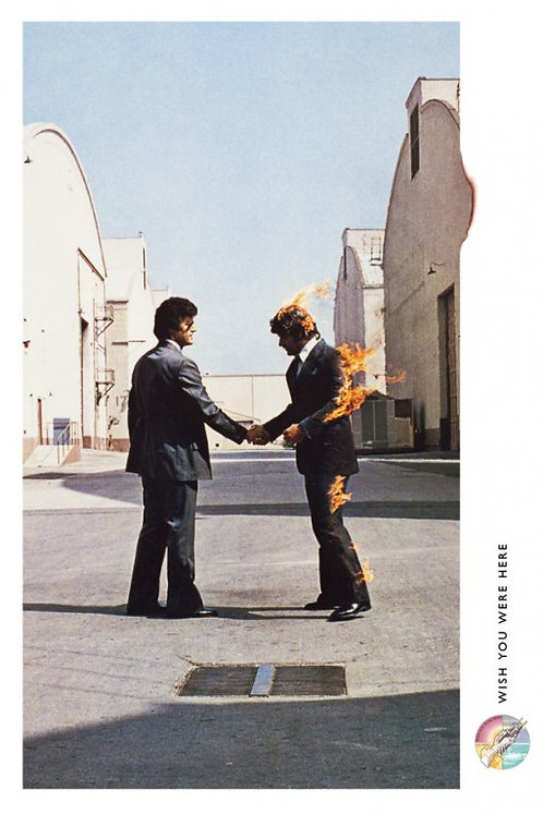 Pink Floyd Wish You Were Here Album Cover Poster