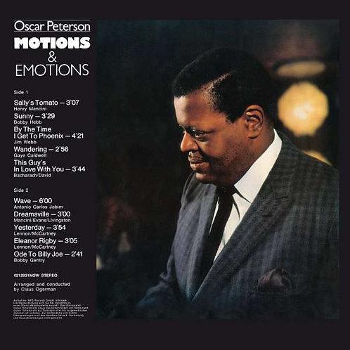 Oscar Peterson: Motions & Emotiona Vinyl Record