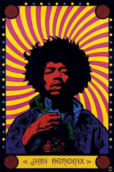 Hendrix, Jimi: Psychedelic Poster