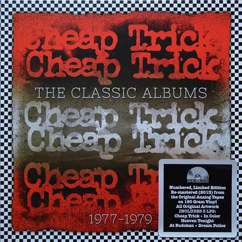 Cheap Trick – The Classic Albums 1977 - 1979