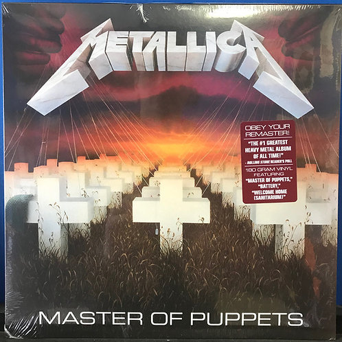 Metallica: Master Of Puppets Vinyl Record