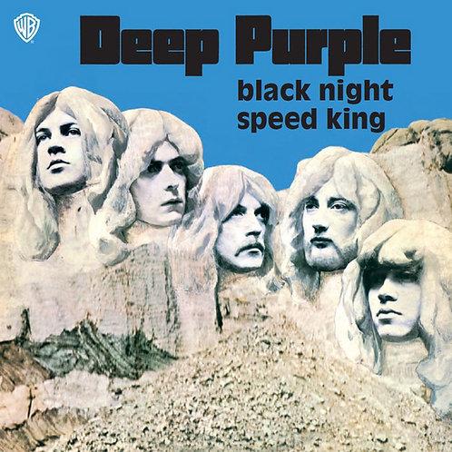 """Deep Purple: Black Night/ Speed King 7"""" 45"""