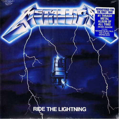 Metallica Ride The Lightning Front cover
