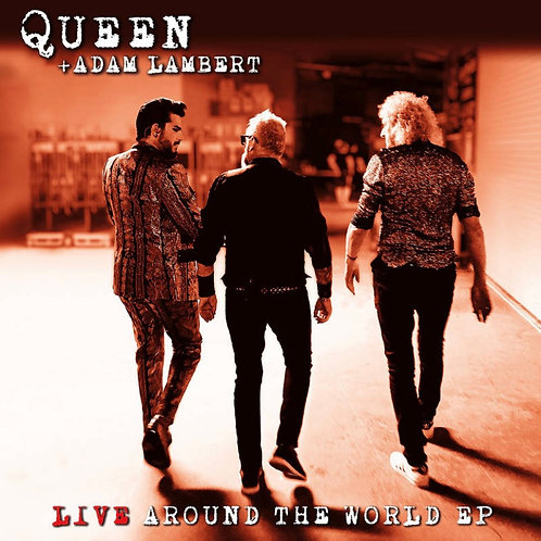 Queen w/ Adam Lambert/ Freddie Mercury: Live around The World Vinyl Record