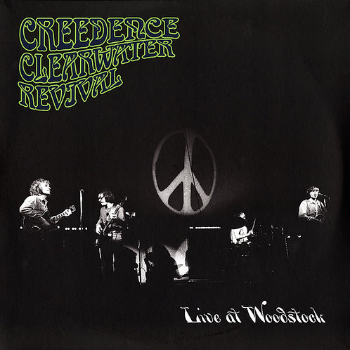 Creedence Clearwater Revival Live At Woodstock Vinyl Record