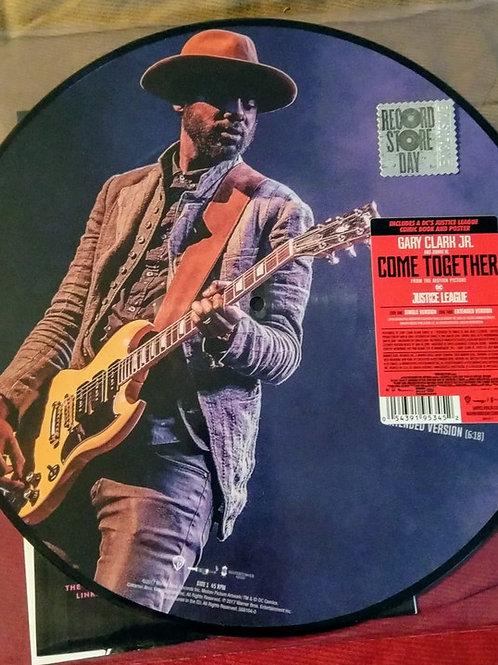 "Gary Clark Come Together 12"" RSD Picture Disc front"