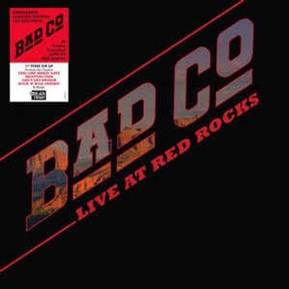 Bad Company: Live At Red Rocks   Vinyl Record