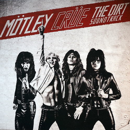 Motley Crue: The Dirt Soundtrack Vinyl Record Front Cover