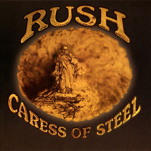 Rush: Caress Of Steel Vinyl Record (200gr) Front Cover