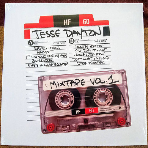 Jesse Dayton: Mix Tape Vol. 1 Vinyl Record