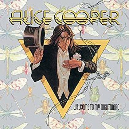 Alice Cooper: Welcome To My Nightmare Purple Vinyl Record.