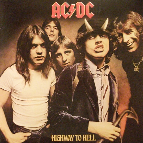 AC/DC: Highway To Hell Vinyl Record