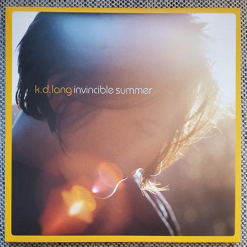 K.D. Lang: Invincible Summer 20th Anniversary Yellow/Orange Vinyl Record