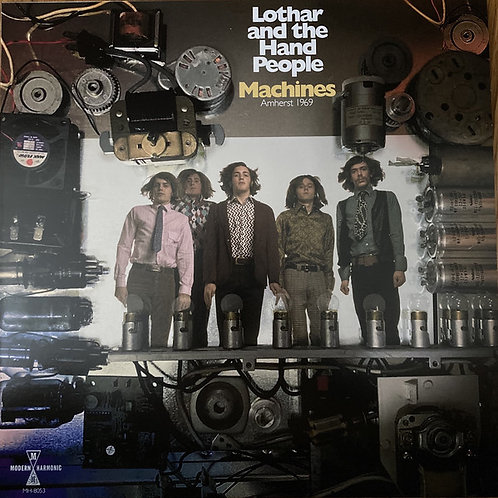 Lothar and the Hand People: Machines Amherst 1969 Vinyl Record