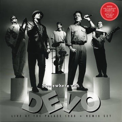 Devo: Somewhere With Devo Live at the Palace 1988 Vinyl Record