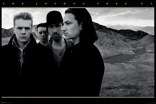 U2 Joshua Tree Poster