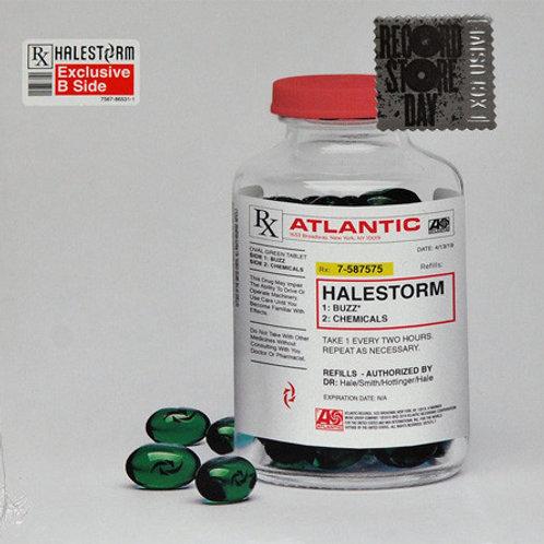 """Halestorm: Buzz/ Chemicals 45 RPM 7"""""""