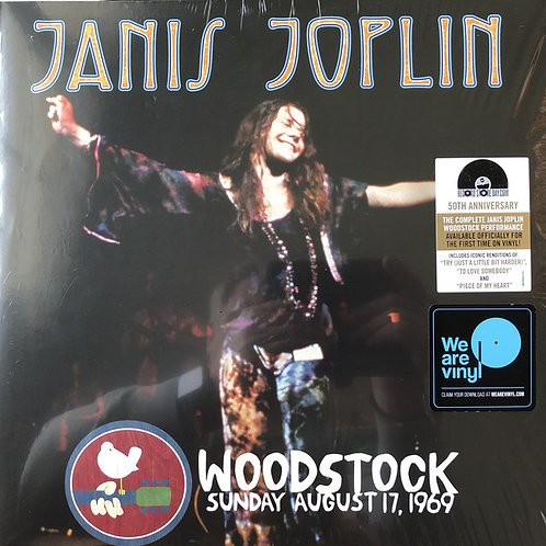 Janis Joplin Woodstock Front Cover RSD