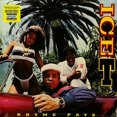 Ice T: Rhyme PaysYellow Vinyl Record