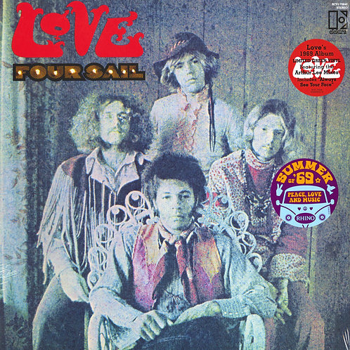Love: Four Sail Vinyl Record (Green Vinyl) Front Cover