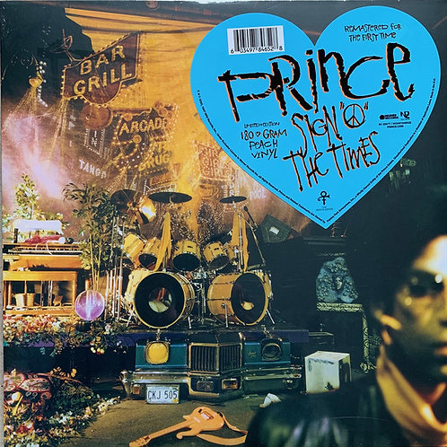 Prince: Sign Of The Times Deluxe 2 LP Vinyl Records