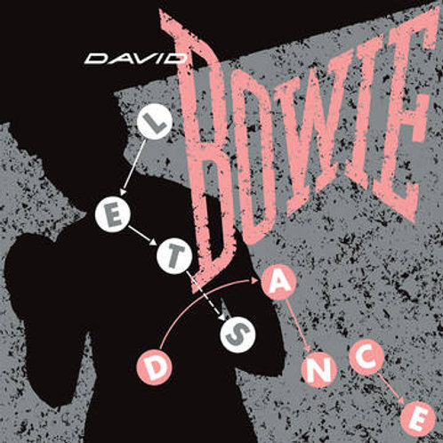 "David Bowie Let's Dance 12"" Front Cover RSD"