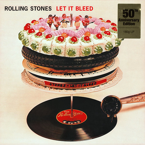 The Rolling Stones: Let It Bleed Vinyl Record
