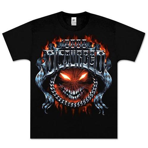 Disturbed 10000 Metal  Chrome T-Shirt
