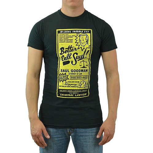Betetr Call Saul Yellow Pages Ad T-Shirt