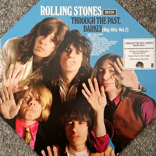 Rolling Stones Through The Past, Darkly Front Cover RSD