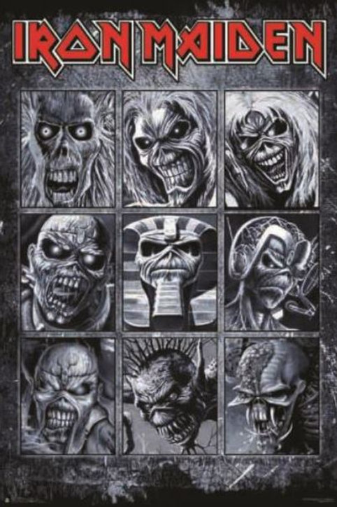 Iron Maiden: The Many Face Of Eddie Poster