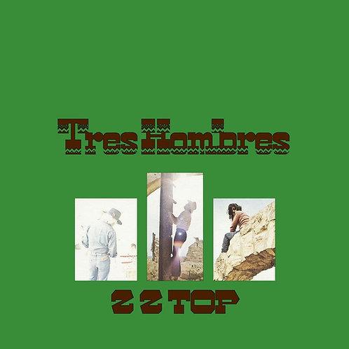 ZZ Top Tres Hombres Jalepno Green Vinyl Record