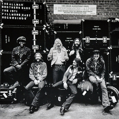 Allman Brothers Band: Live At The Filmore 180gr Vinyl Record