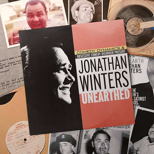 Jonathan Winters: Unearthed Vinyl Record