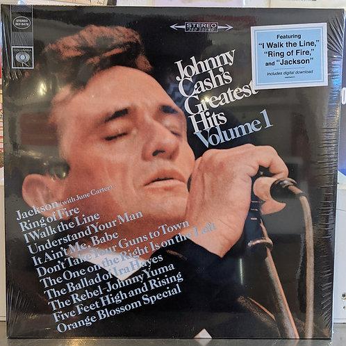 Johnny Cash: Greatest Hits Volume 1 Vinyl record