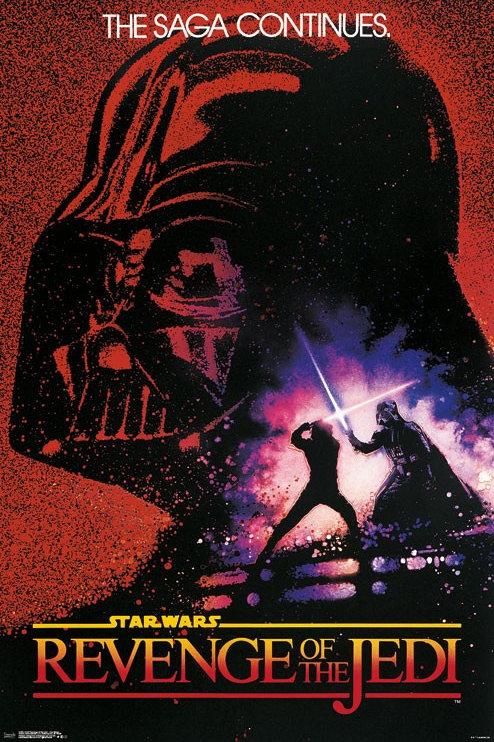 Star Wars Revenge Of The Jedi Poster