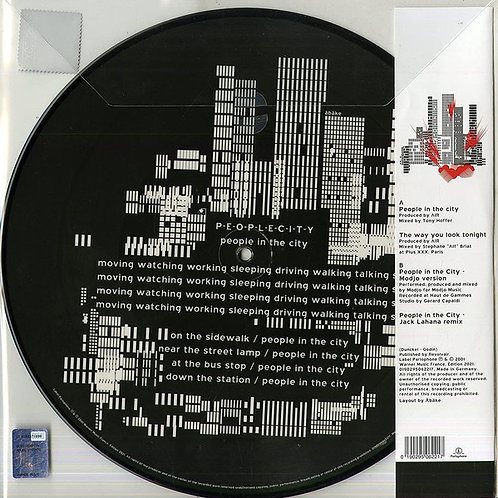 Air: People In The City Picture Disc