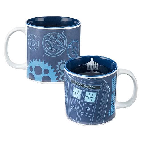 Doctor Who Heat Reactive Ceramic Mug