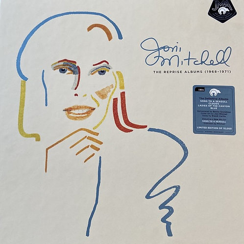 Joni Mitchell: The Reprise Albums (1968-1971) Deluxe Box Set