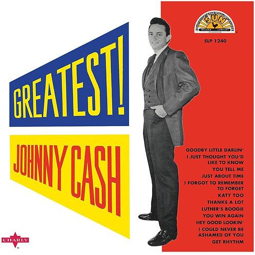 Johnny Cash Greatest! White Vinyl